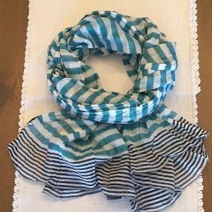 Armor Lux striped scarf